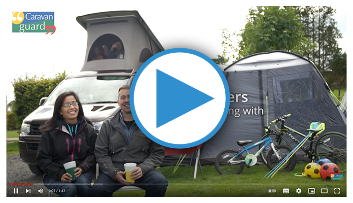 Motorhome insurance video from the Coopers