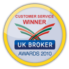 Winner UK Broker Awards 2010