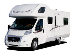 Swift Sundance exterior