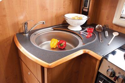 Large circular sink