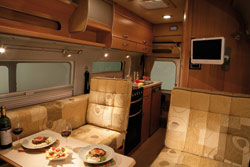 Auto-Sleeper Symbol dining area