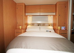 Bailey Pegasus 554 Bed Extended