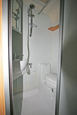 Elddis Xplore 302 Shower Room