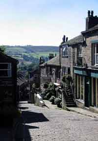 Take a walk down Haworth Main Street