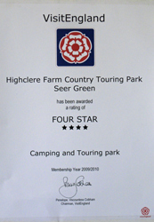 Four Star Site - Visit England