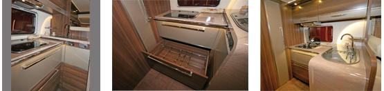 Bürstner Elegance I821G Kitchen