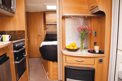 Swift Challenger 570 Interior