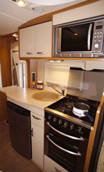 Swift Sundance 630L Kitchen