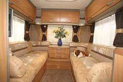 Swift Kontiki 649 rear lounge