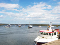The quay at Wells-next-the-Sea