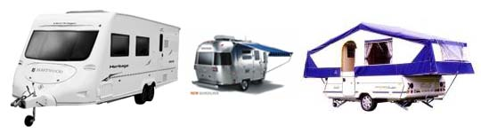 Caravans insured by Caravan Guard