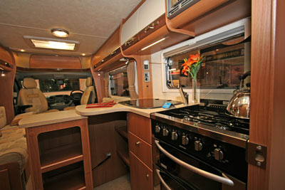 Motorhome Kitchens Winner - Autocruise Starburst