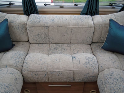 Bailey Pegasus II optional Gershwin upholstery