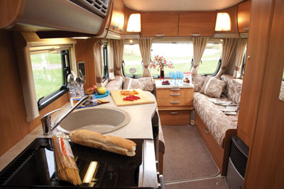 Swift Charisma 565 interior