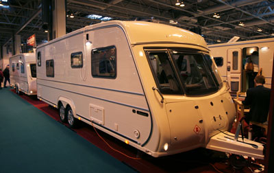 Vanmaster Applause 580 SB EW touring caravan