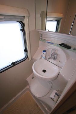 Elddis Autoquest Washroom