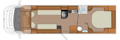 Auto-Trail Comanche Floorplan