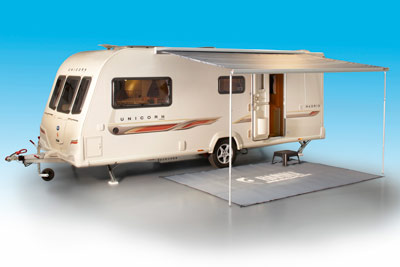 Fiamma F45 Bailey Alutech Awning & An awning delight: Wind out awning developed for Bailey caravans ...