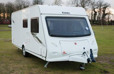Elddis Xplore 540 touring caravan