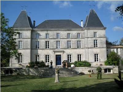 The impressive chateau