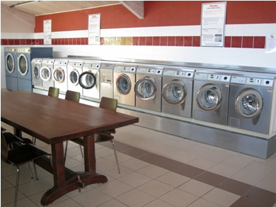 The high quality laundry facility