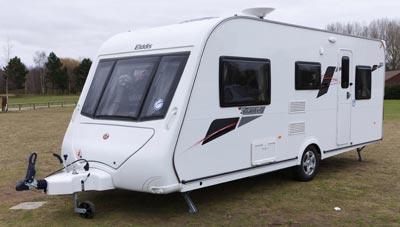 Elddis Avante 515 Touring Caravan