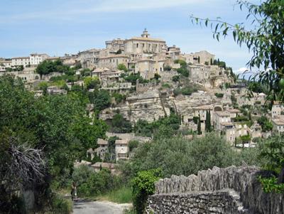 The hilltop village of Gordes