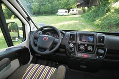 Rapido 666 motorhome cab