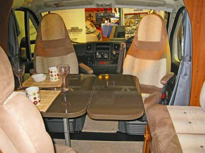 Adria Matrix interior