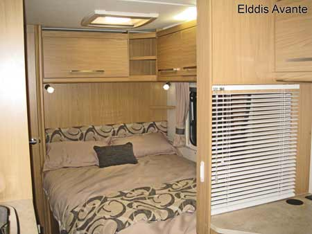 Elddis Avante Fixed Bed
