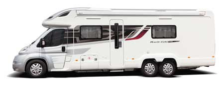 Swift Kontiki exterior side on