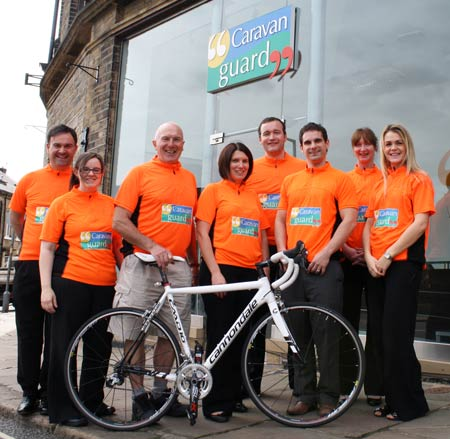 Great Yorkshire Bike Ride Caravan Guard Team 2012