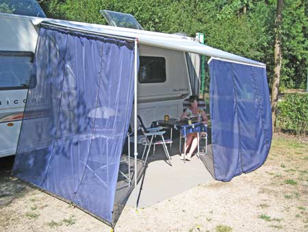 Excellent Side Walls Awning Sunroof Universal Side Wall For Caravan Awning
