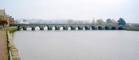 Barnstaple The Town Bridge