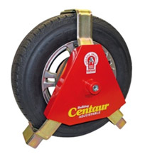 bulldog red wheel clamp
