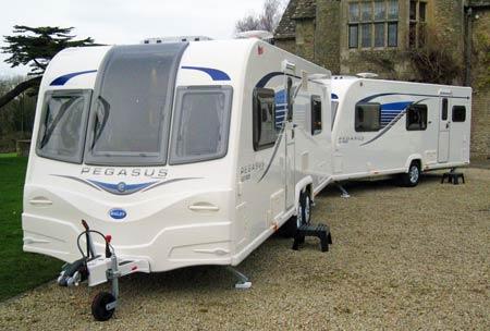 Bailey Pegasus GT65 range exterior