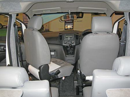 Lunar Vacanza Camper Car Interior Cab