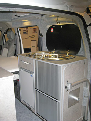 Lunar Vacanza Camper Car Kitchen Sink