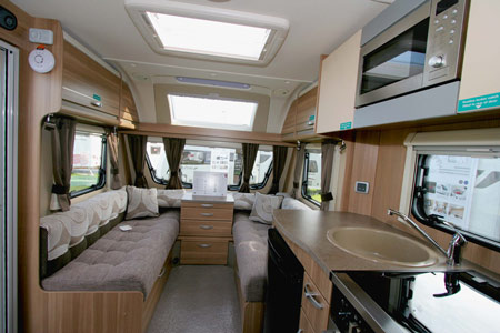 Sterling Eccles Sport 584 Caravan Lounge