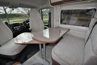 Tribute-669-seating-area-behind-the-driver's-cab