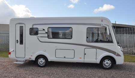 2013 hymer b544 motorhome review putting a market leader for Classic american homes reviews