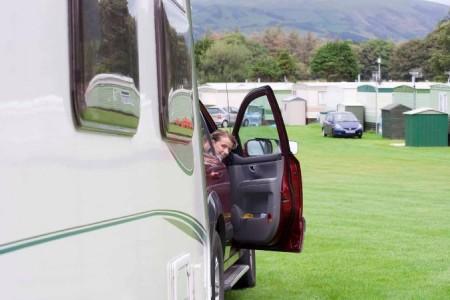 tourer caravan reversing
