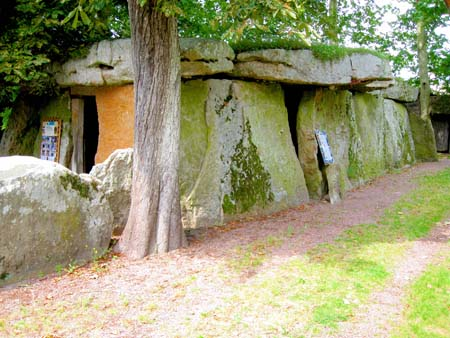 Dolmen at The Valley of the Kings in France