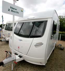 Simple Lunar Ariva 2013 Caravan Review Perfect For Two! - Caravan Guard