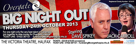 Big Night Out advert