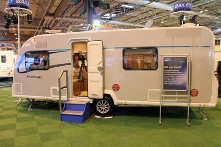 Bailey Pursuit Caravans Exterior of 530-4