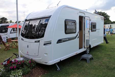 Coachman Vision 560-4 Caravan Exterior 1
