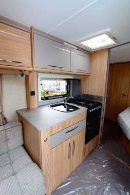 Coachman Vision 560-4 Caravan Kitchen