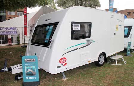 Elddis Xplore 402 Caravan - Exterior 1