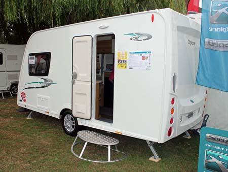 Elddis Xplore 402 Caravan - Exterior 3